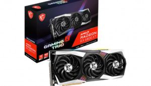MSI Radeon RX 6800 (XT) Gaming X Trio 16G Announced