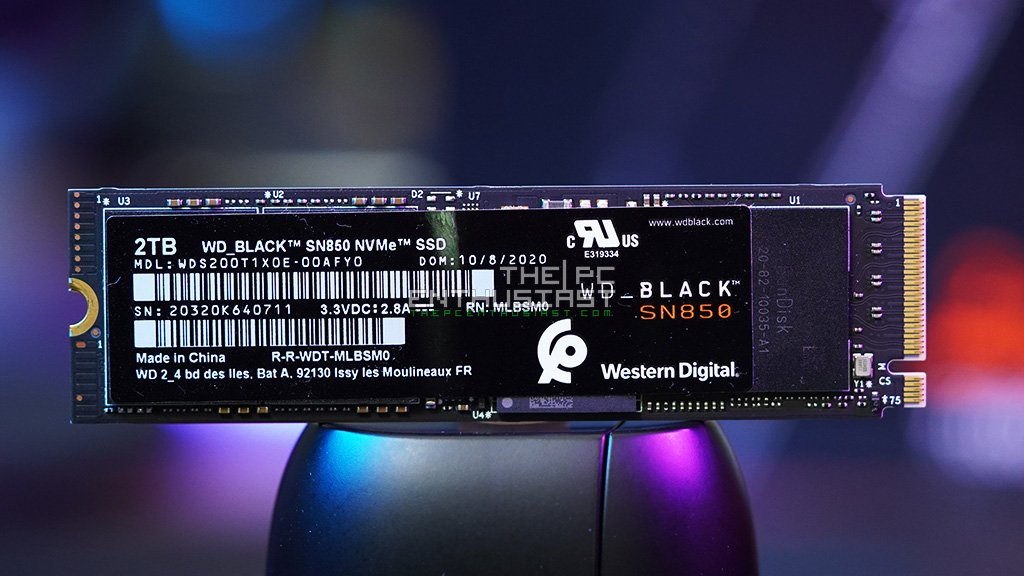WD Black SN850 Gen4 SSD Review