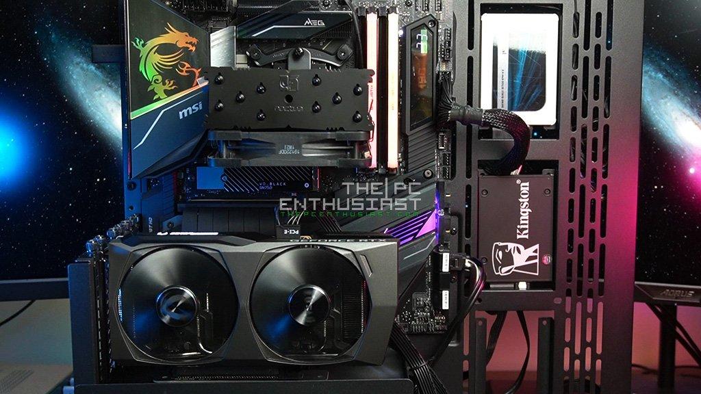 Zotac RTX 3060 Ti Review Test Setup
