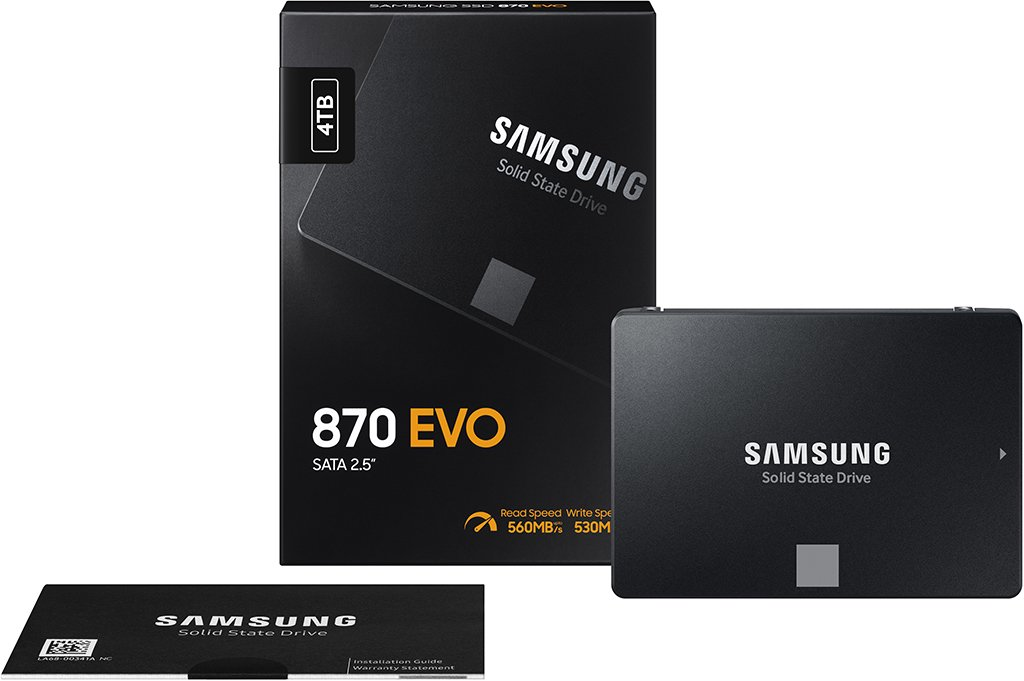 samsung 870 EVO features and specs
