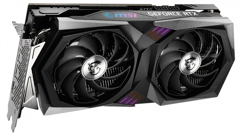 msi rtx 3060 gaming x front