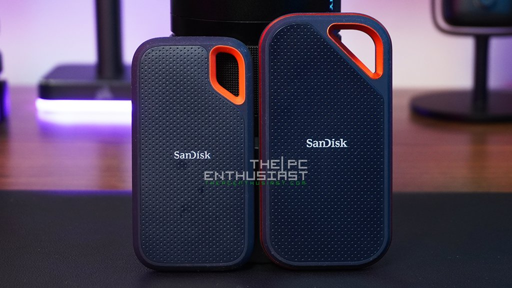 sandisk extreme pro portable ssd v2 review front view