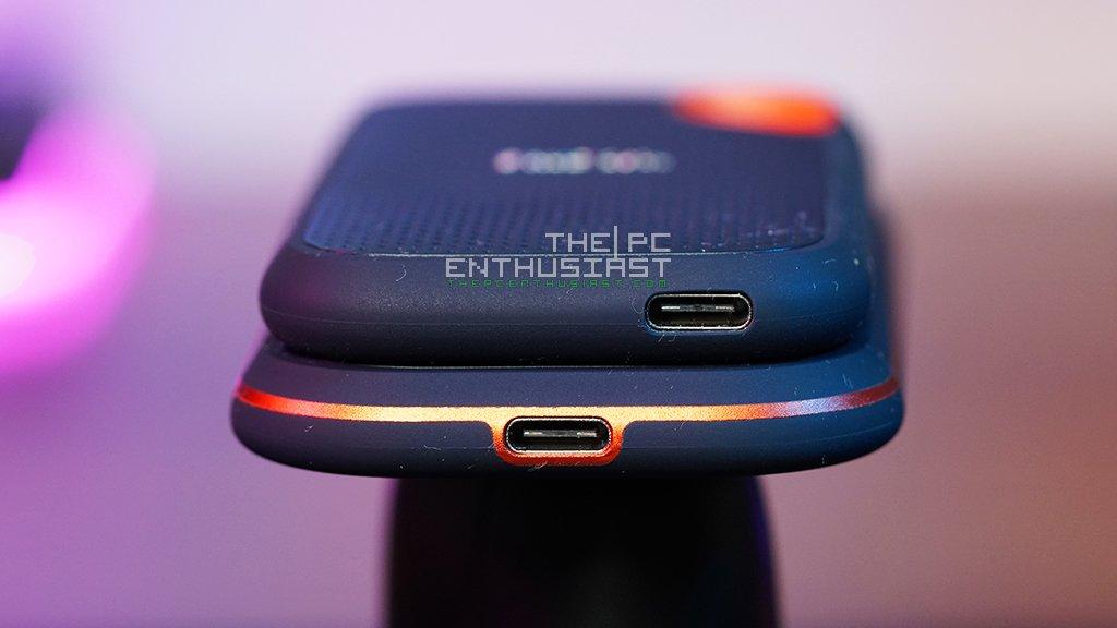 sandisk extreme pro portable ssd v2 usb type-c port