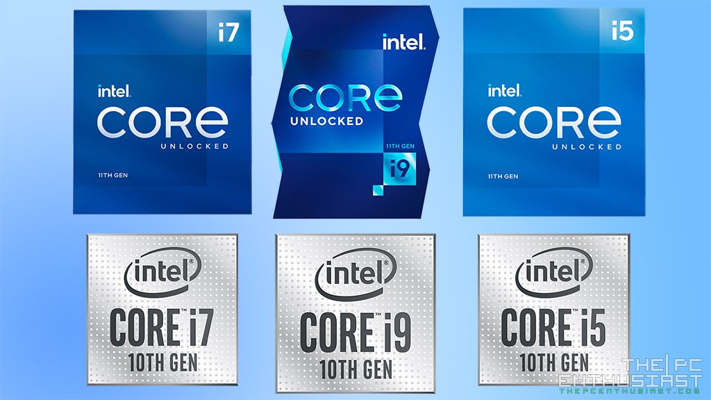 Intel 11th Gen Vs 10th Gen CPU