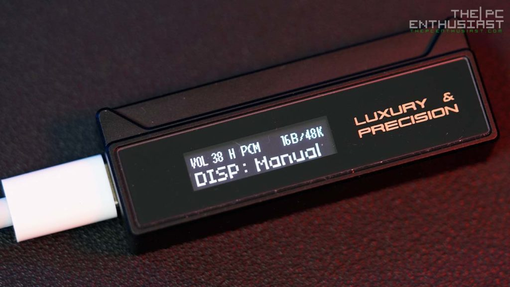 LP W2 DAC Display