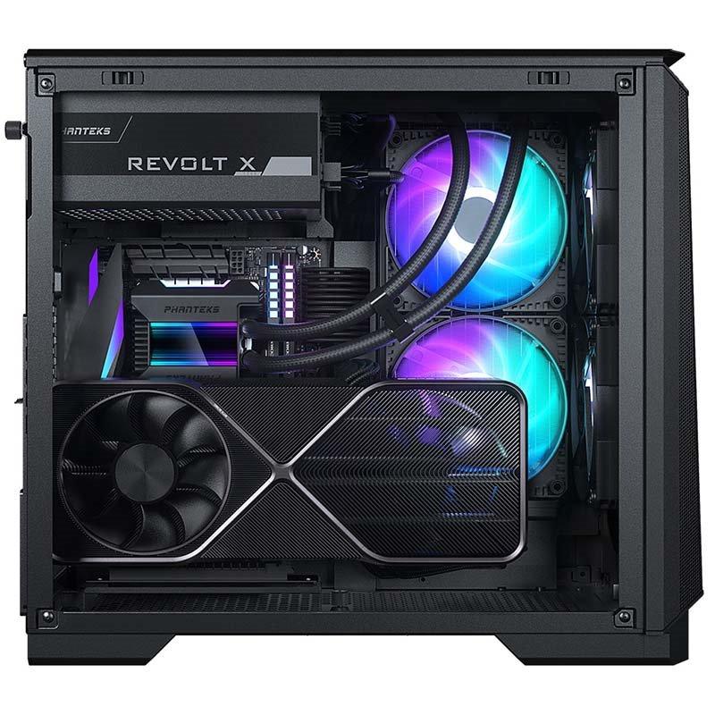 Phanteks Eclipse P200A D-RGB ITX GPU vertical mount