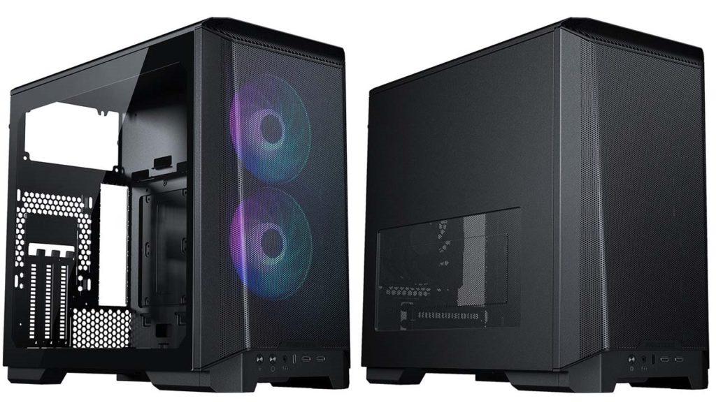 Phanteks Eclipse P200A DRGB and Performance ITX chassis-01