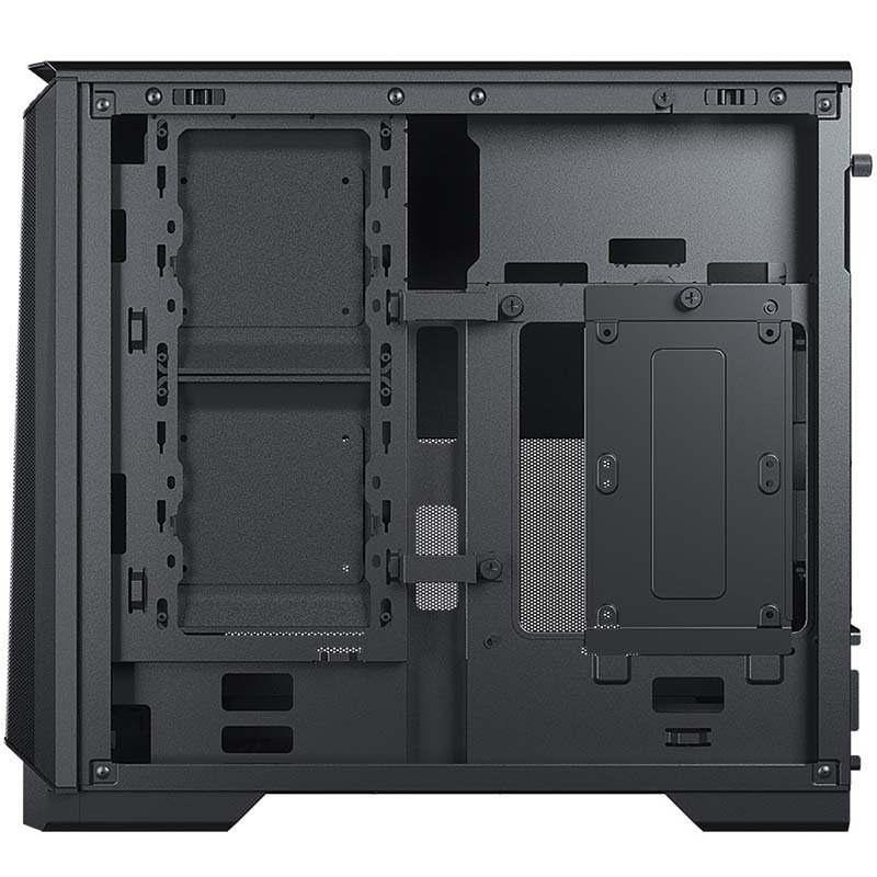 Phanteks Eclipse P200A ITX chassis backside internal