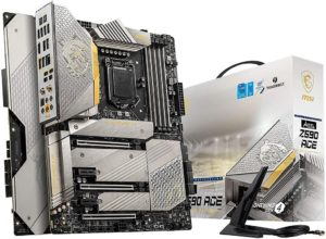 msi meg z590 ace gold edition motherboard