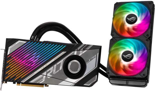 ASUS ROG Strix LC GeForce RTX 3080 Ti OC Edition Gaming