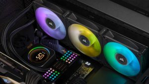 CORSAIR ELITE LCD CPU Coolers Launched – Ready for 12th Gen Intel Alder Lake CPUs