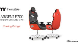 Thermaltake ARGENT E700 Real Leather Gaming Chair Announced